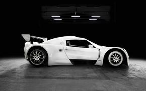 Loto, bianco, sfondo, auto, macchinario, Auto