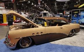 buick, special, eaton corp, 1955, tuning, sema, Бьюик, Спешиал, тюнинг, выставка, автошоу, ретро