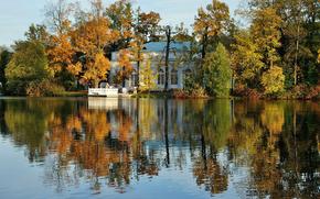 Tsarskoye Selo, pushkin, lake, forest