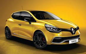 Автомобили, Автомобиль, Машины, Машина, Рено, Клио, Жёлтый, Renault