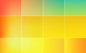 squares, texture, yellow, red, orange