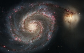galaxy, large, small, Two
