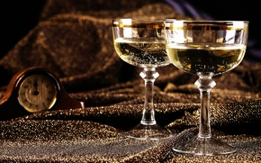 champagne, cups, holidays, Champagne, Cups, Holidays