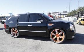 Cadillac, Escalade, VIAIR corp, 2012, Abstimmung, sema, Cadillac, Escalade, Abstimmung, Ausstellung, autoshow, SUV