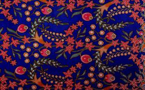 текстура, малайзия, батик, ткань, костюм