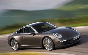 Autos, Auto, Maschinen, Maschine, Porsche, Carrera, Fach, braun, Bewegung, Strae, Porsche