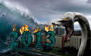 2013, serpente, Apocalisse