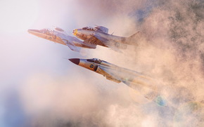 самолёты, небо, авиация