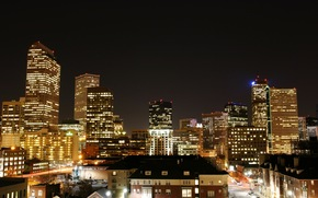 Stati Uniti d'America, America, Colorado, Denver, notte