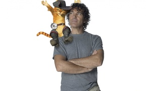 Antonio Banderas, actor, the voice of Puss in Boots, Puss in Boots