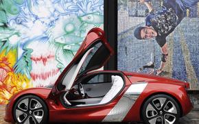 машины, авто, рено дезир, откидные, двери, салон, диски., Renault