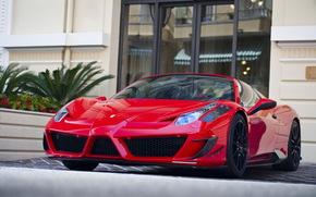 Ferrari, Italia, rosso, Sintonia, Supercar, Ferrari