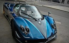 Pagani, sonde, Supercar, voiture de sport, Supercars