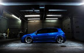 гольф, синий, Volkswagen
