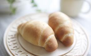 хлеб, еда, фон