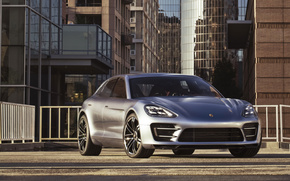 porsche, Panamera, architecture, cars, machinery, Car