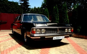 gas, seagull, limousine, USSR, car, retro, Other brands