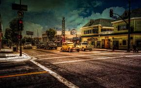 城市, 街道, 风格