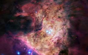 nebula, Orion, constellation, Star, gas, dust