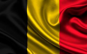 belgium, satin, flag, Belgium, sateen, flag