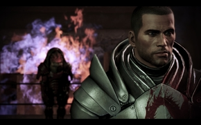 Mass Effect, massa, effetto, Rex, Pastore