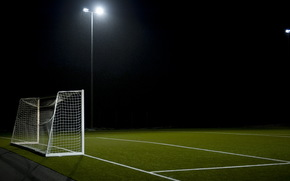 足球, 运动, 领域, 门