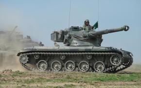 tank, Crew, polygon, French tank.
