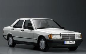 мерс, белый, темный фон, фон, автомобиль, машина, фары, колеса, Mercedes
