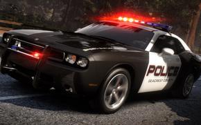 полиция, погоня, дорога