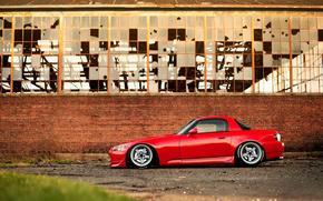 хонда, стена, тюнинг, Honda