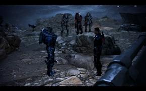 Mass Effect, masa Effect3, masa, efecto, Garrus, Pastor