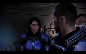 Mass Effect, massa Effect3, massa, effetto, Ashley, Pastore