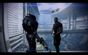 Mass Effect, masa, efecto, Garrus, Pastor