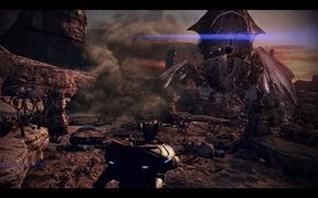 Mass Effect, massa, effetto, Mietitore, Pastore, inseguimento