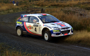 ford focus, rs wrc, mcrae,