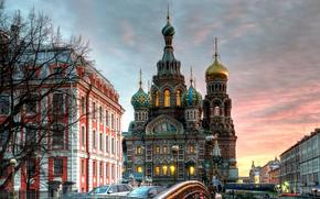 Iglesia de San Salvador de la Sangre Derramada, Catedral de la Resurreccin de Cristo, San Petersburgo