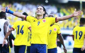 Radamel Falcao Garcia, Colombia, Paraguay, Coppa del Mondo FIFA, qualificazione, calciatore, prendere, scopo, felicit, calcio
