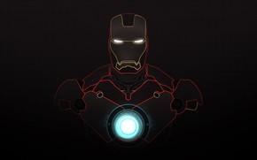 man of iron, iron man, minimalism