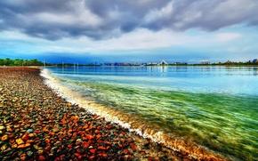 costa, acqua, paesaggi