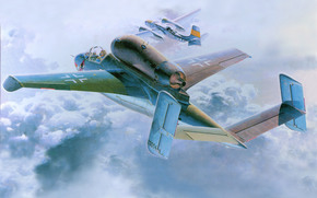 plane, German, aviation