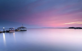 calm, USA, water, berth, smooth surface, ocean