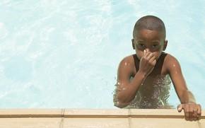 настроения, дети, вода бассейн, плавание, фон, обои