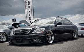 Toyota, Ausstellung, Auto, CDs, Understatement