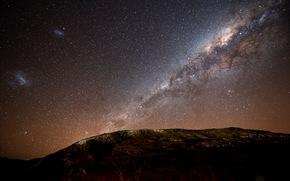 el cielo nocturno, Va Lctea, galaxia, Estrella