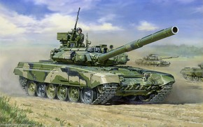 tank, Russian, main battle tank, tankers, picture