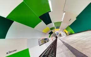 metro, city