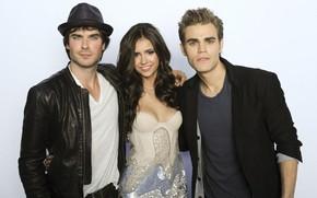 serie, The Vampire Diaries, Los actores principales series