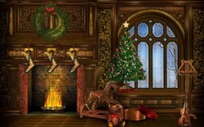 christmas, НОВЫЙ ГОД, ЁЛКА