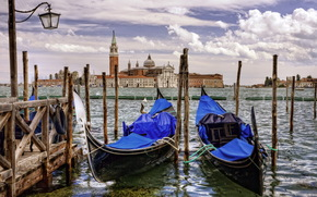 Venice, Boat, wharf