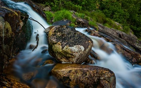 Norvegia, Norvegia, fiume, pietre